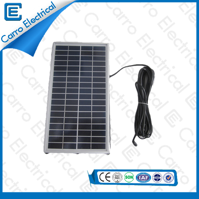 china 18V 6W Indoor/Outdoor Portable Home Inverter Solar Power System Made in China CEL-206A supplier