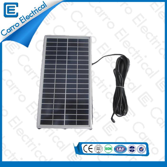 china 18V 6W Indoor / Outdoor Beweglicher Hauptwechselrichter Solar Power System Made in China CEL- 206A supplier