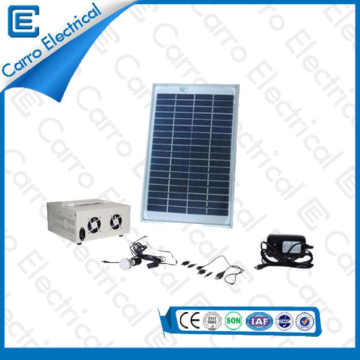 china Mejor Sistema Solar Eléctrico DC portátil 10W de calidad con 5 m de línea de potencia de Protección Ambiental CES- 1205 proveedor