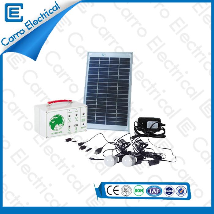 china Bonne qualité 15W Portable Best Power Système Solaire long temps de travail Safe Operation CES- 1207 fournisseur
