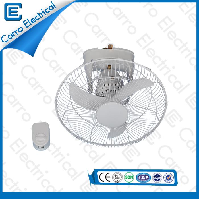 china 12v 16 pouces ventilateur de toit solaire ventilateur de plafond continu de l'énergie solaire DC- 12V16LA fournisseur