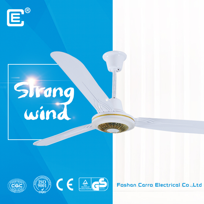china New model 12v ac dc double solar ceiling fan with remote control ADC-12V56A2 supplier