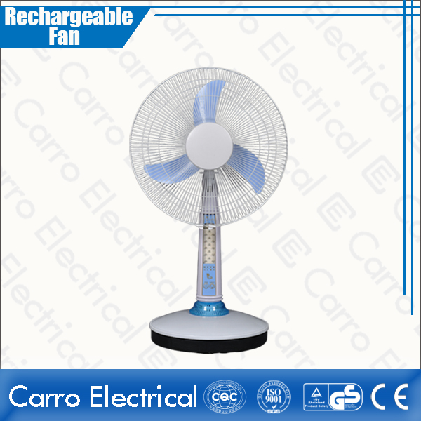 Китай Factories Manufacturing Solar Power Operation 12V DC Portable White Table Cooling Fan DC-12V14AL поставщиком