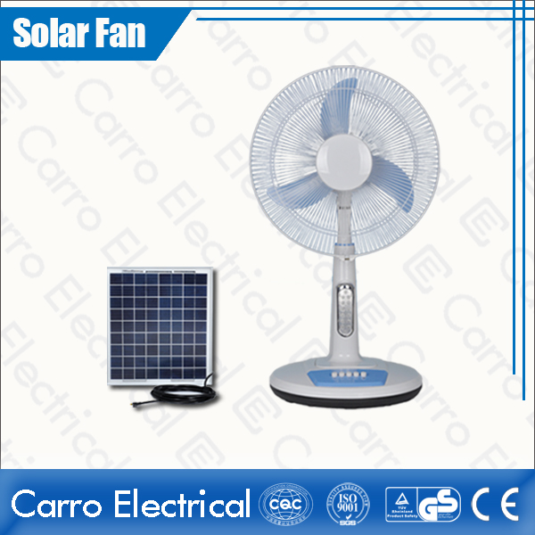 china Best Quality 16 Inches DC 12V Solar Standing Fan with Timing Function Competitive Price DC-12V16TD2 supplier