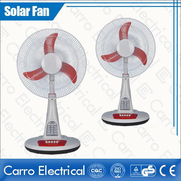 中国·Full of Classical Flavor DC 12V 16 Inches Solar Charge Stand Fan with LED Lamps CE-12V16TD3·サプライヤー