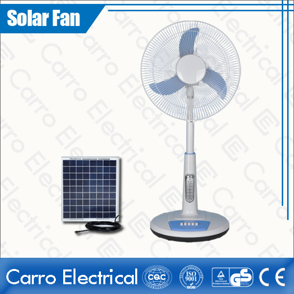 中国·16 Inches DC 12V or 110V/220V Timer Function 15W Solar AC DC Stand Fan ADC-12V16TD2·サプライヤー