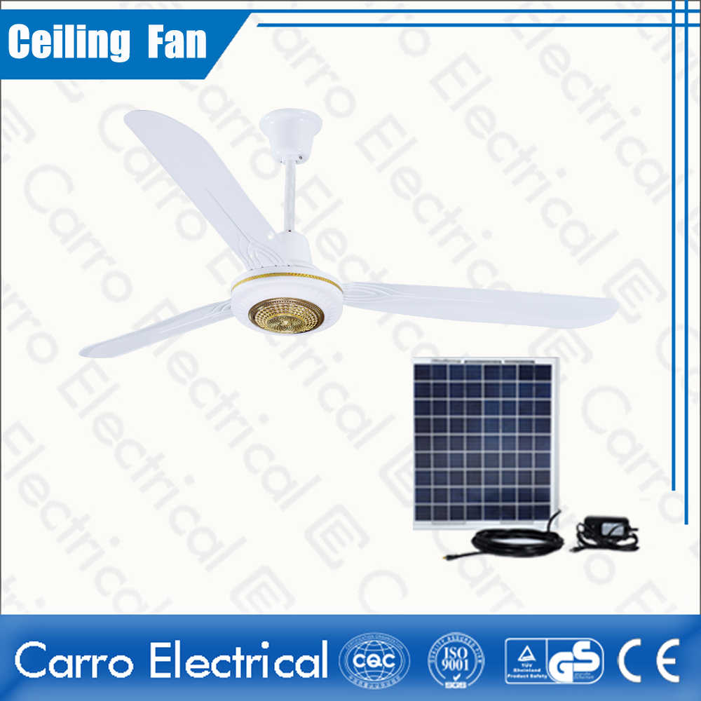 china 56 Inches DC Ceiling Fan 3 Metal Blades with Step Switch Control Energy Saving Safe Operation DC-12V56A6 supplier