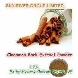Cinnamon Bark Extract Powder Cinnamomum cassia Presl 1.6% Methyl Hydroxy Chalcone Polymer