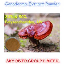 china Organic Ganoderma Extract Spore Powder Herbal Product (30% & 50% Polysaccharides) Plant Raw Material supplier