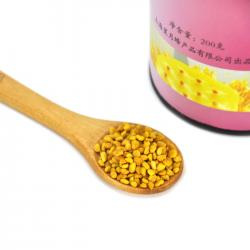Organic Bee Pollen Extract Powder Golden Yellow Color Natural Free Sample