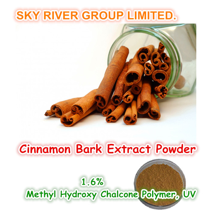 china Hot Product 100% Natural Cinnamon Bark Extract Powder (1.6% Methyl Hydroxy Chalcone Polymer) supplier